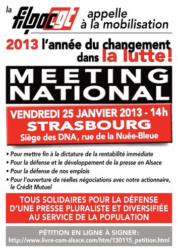 meeting Strasbourg