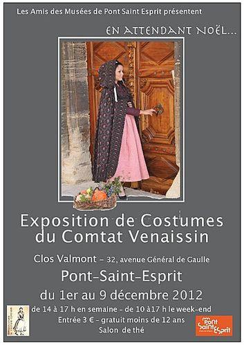expo costume Pont St Esprit