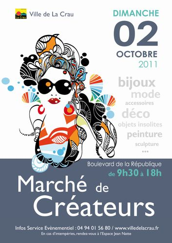 Flyer MARCH- de CR-ATEURS
