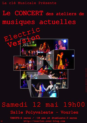 affiche Electric Version 2012 web