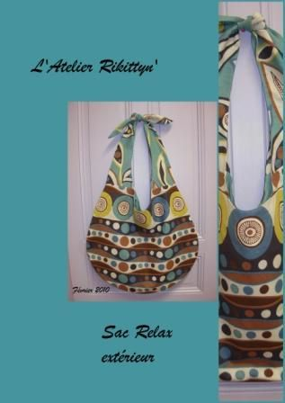 Sac Relax turquoise