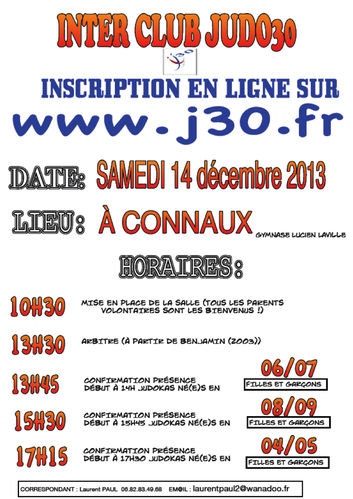 interclub connaux 2013