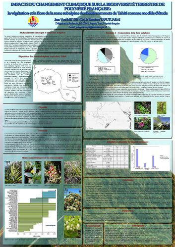 Meyer & Taputuarai 2007 poster vegetation subalpine