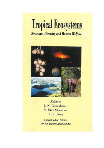 Tropical ecosystems title cut