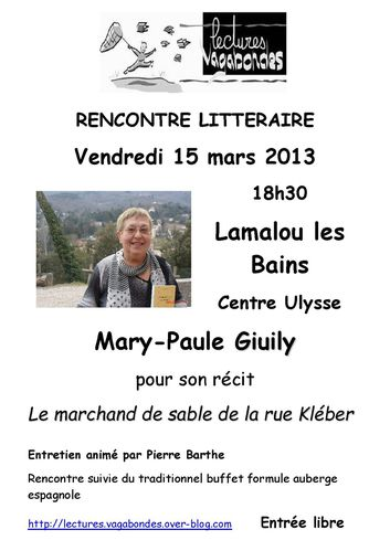 affiche Mary-Paule Giuily