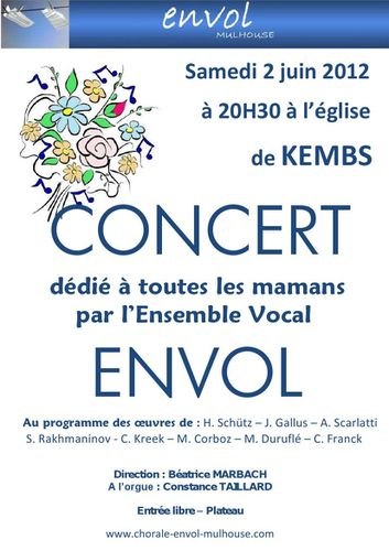 affiche concert kembs