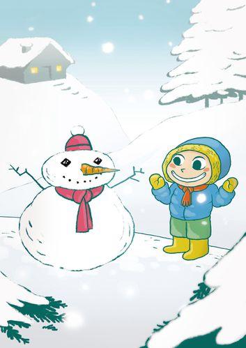 Le petit bonhomme de neige comp facebook desat2