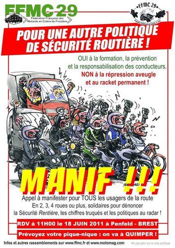 MANIF MOTO 18 06 2011