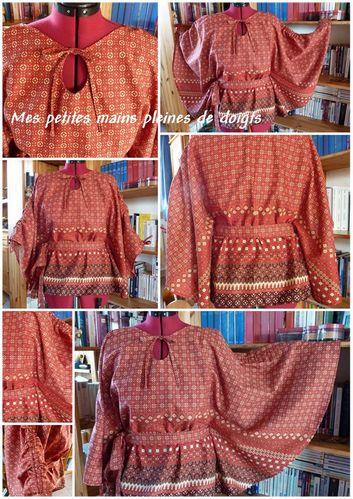 Batik tunik mos