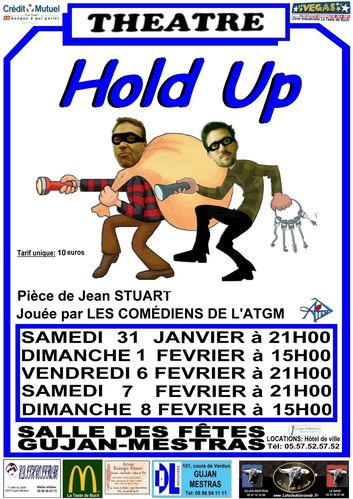 Affiche 2 Hold Up 2015