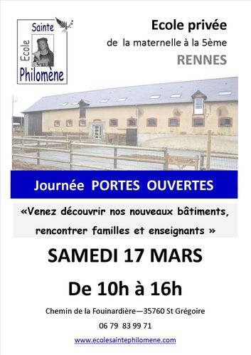 Portes ouvertes 2012 Tract