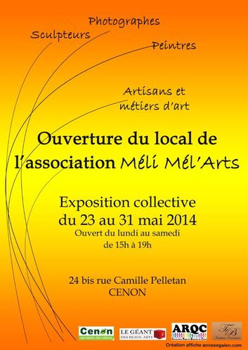 AFFICHE-OUVERTURE-LOCAL-MELI-MEL-ART-2014.JPG