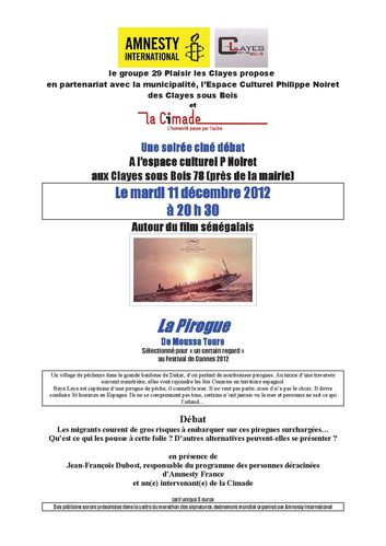 pirogue (Les Clayes)