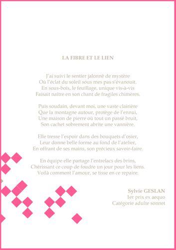 1er prix sonnet