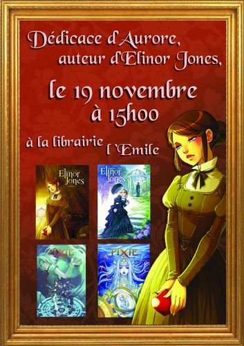 Elinor Jones dédicace à l'emile