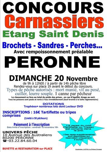 Concours Carnassiers