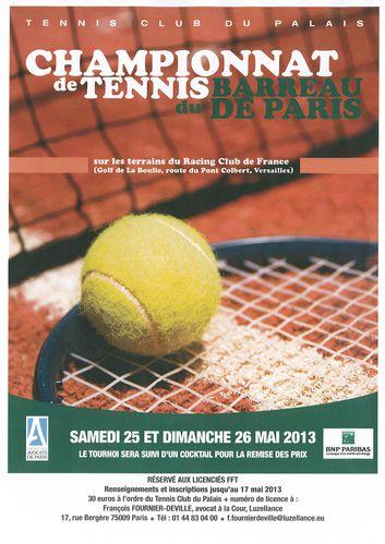 Tennis club palais 2013