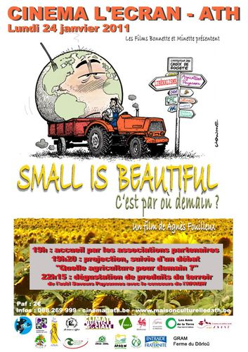affiche Small Is B1