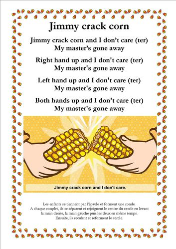 jimmy crack corn image