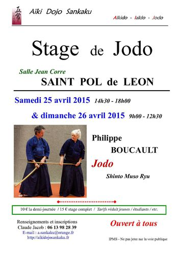 Stage avril - 2015