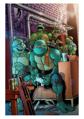 tmnt n 13 variant cover by claudia sg-d51kee4