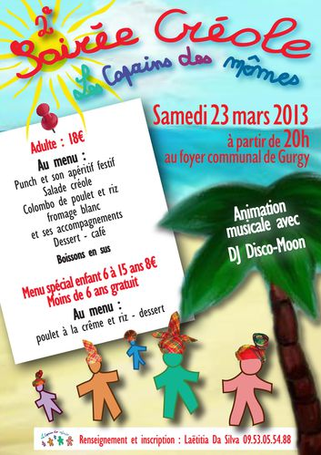 affiche creole 2013