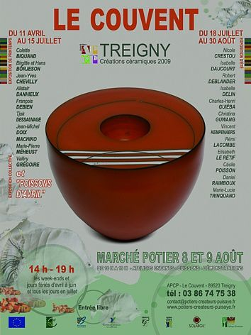 affiche expos Treigny