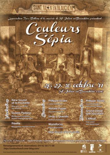 Sépia-affiche mail