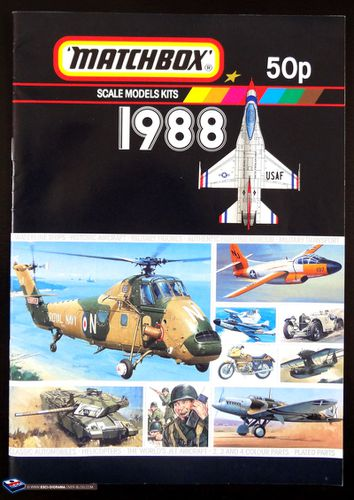 1988---matchbox-maquettes---UK
