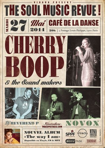 the soul music review cherry boop tiguilup graphiste vintag