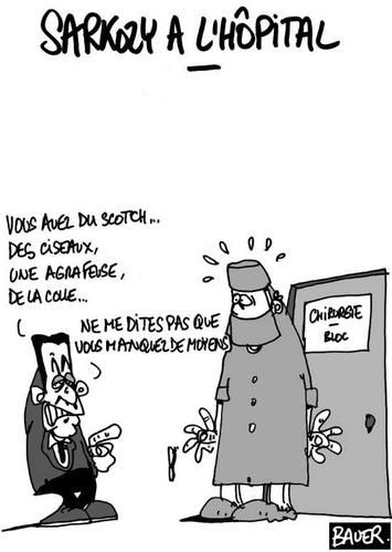 sarkozy hopital deficit sarkostique 7