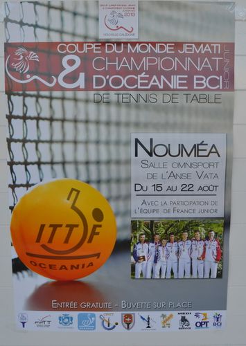 Coupe du monde et championnat d 39 oc anie de tennis de table junior le blog de la tribu mas - Tennis de table championnat du monde ...