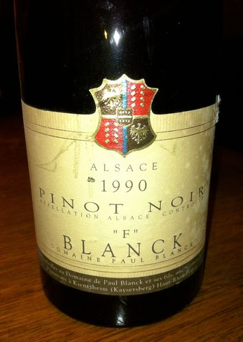 pinot noir F 1990 Paul Blanck