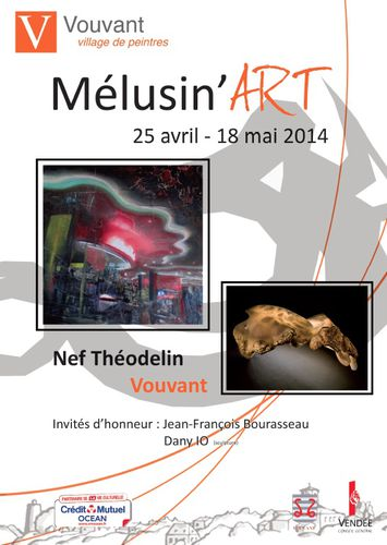 Affiche Mélusin'art 2014