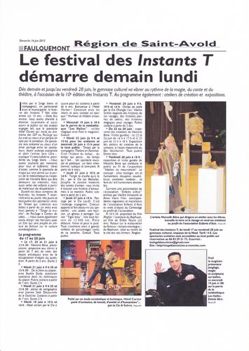 article presse blog