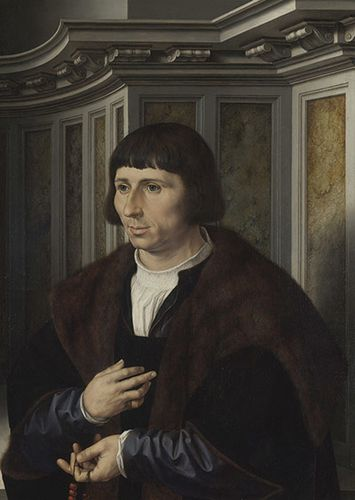 10 -- 1525 Jan Gossaert H au rosaire National Gallery Londr