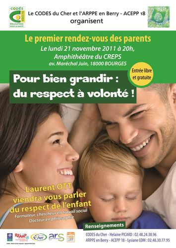 111121 Echange 1er rdv parents