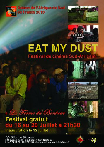 Poster EAT MY DUST FESTIVAL juillet 2013