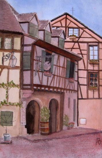 Maisons à Riquewihr (1).