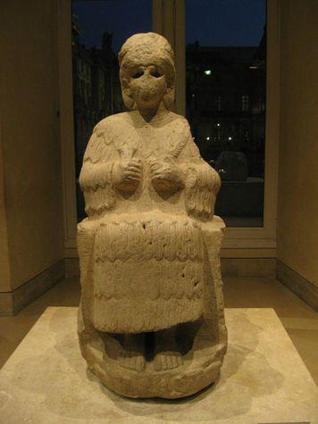 Iran - Statue de la déesse Narundi
