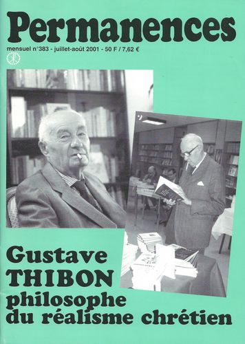 Gustave Thibon Permanences-copie-1