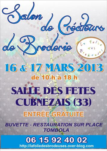 Affiches brodeuses