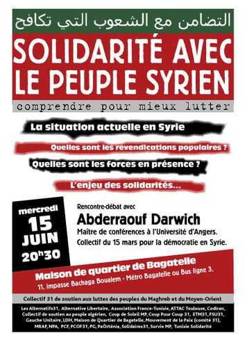 Affiche syrie