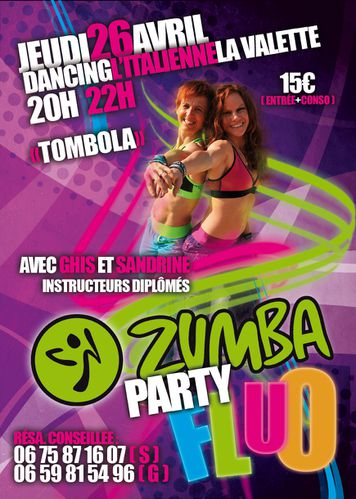 Zumba Party Fluo La Valette