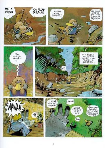 Toto l'ornithorynque T1 - Extrait