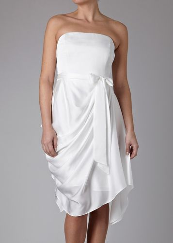 saphire hitched dress