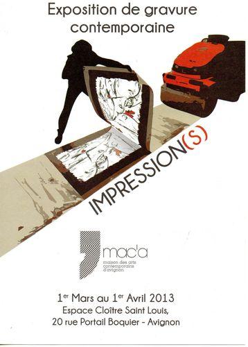 Impressions affiche