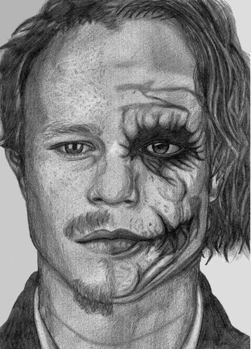 heath ledger as the joker by rubygloommel-d50vr9y