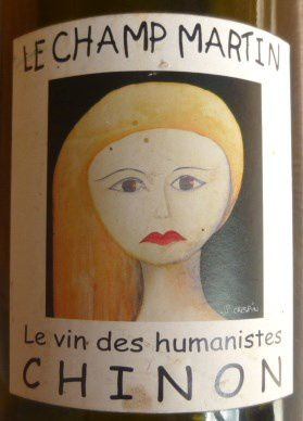 Blonde, Chinon-Le Champ Martin-Vins des Humanistes-JF-Crespin