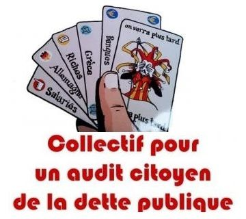 dette origine audit citoyen pétition spéculation banque finance pillage